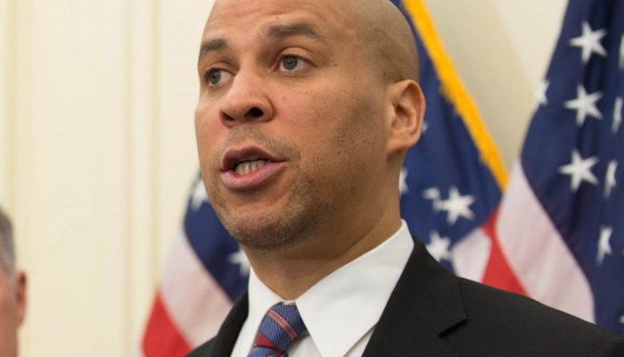 Booker visits New Brunswick, supports Cahill at ice cream social