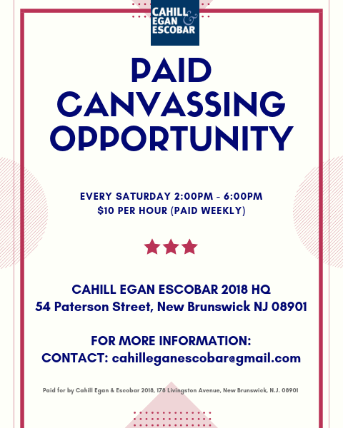 Paid Canvassing Opportunity